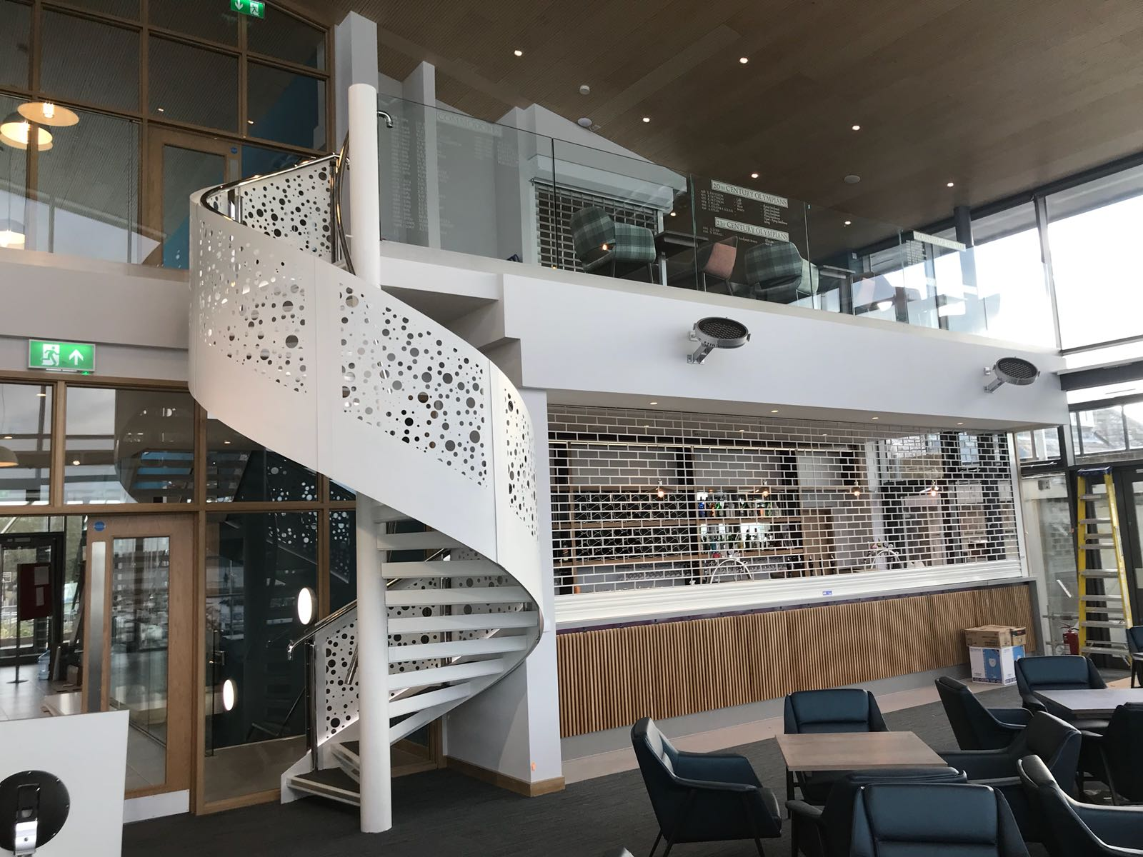 Interior Spiral Staircase for a venue in Parkstone, Poole