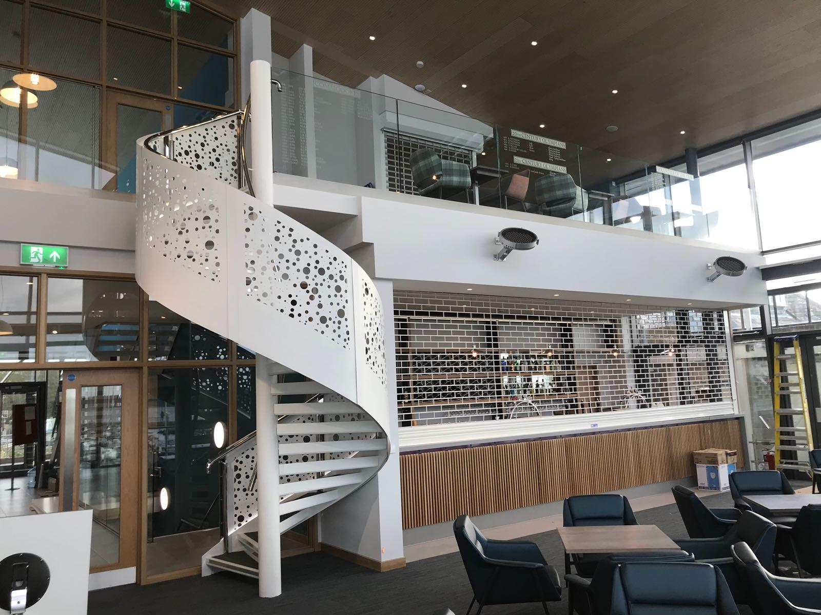 Interior Spiral Staircase for a venue in Parkstone, Poole