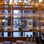 Glass Waiter Station